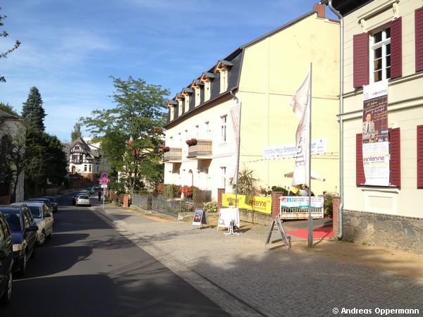 Bei der Sommerkomödie 2012 in Bad Freienwalde