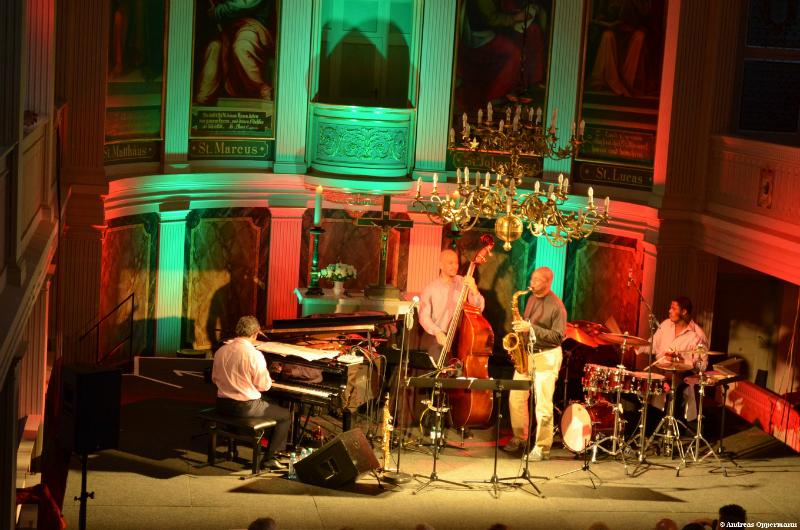 Branford Marsalis in der Schloßkirche Neuhardenberg