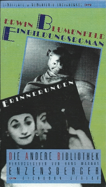 Erwin Blumenfeld: Einbildungsroman