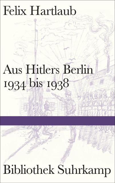 Felix Hartlaub: Aus Hitlers Berlin 1934 - 1938