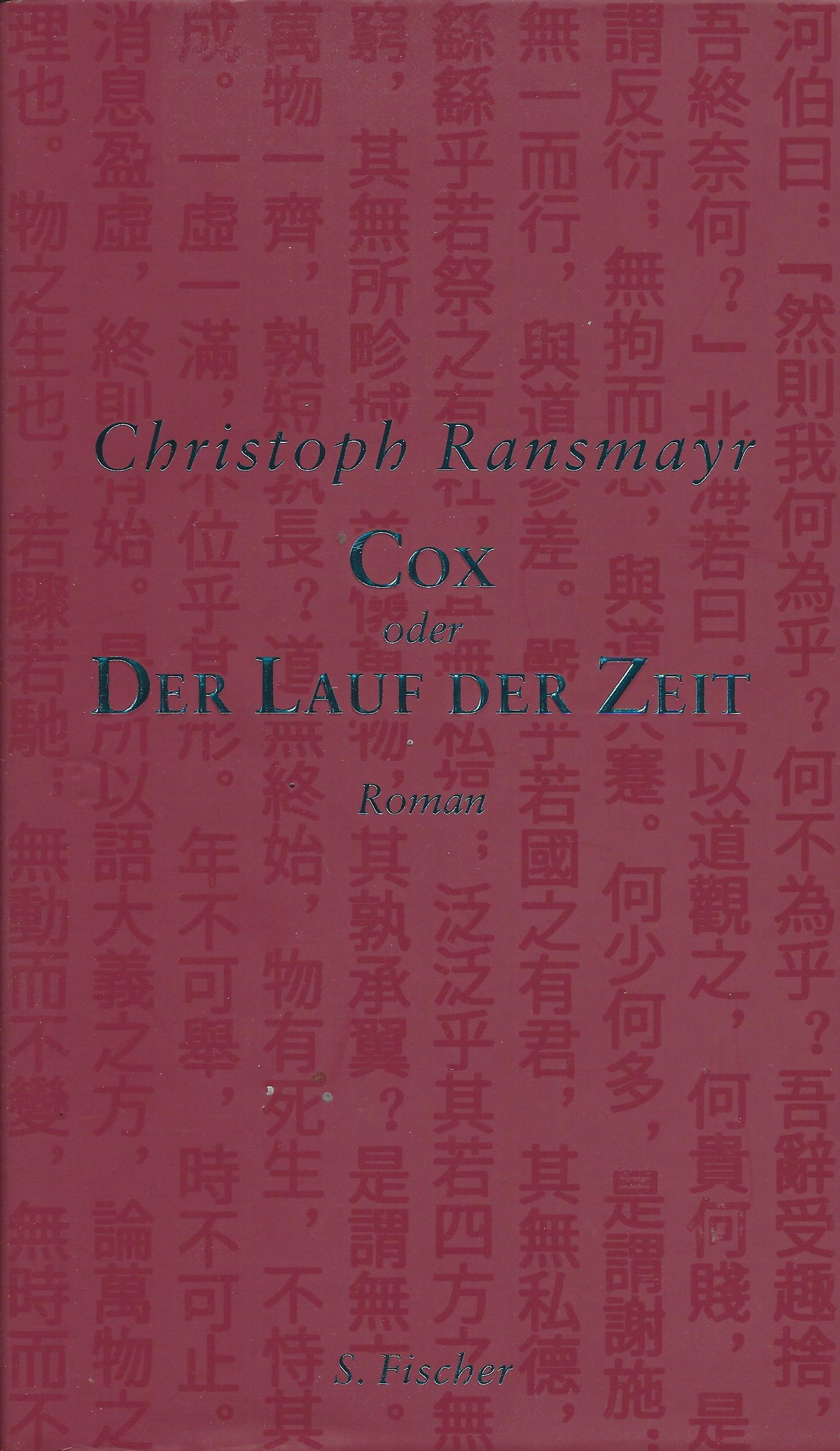 Christoph Ransmayr: Cox