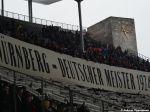 Choreografie der Fans des 1. FC Nürnberg im Berliner Olympiastadion