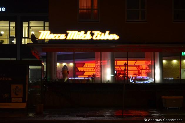 Milch-Mocca-Eisbar in Eisenhüttenstadt