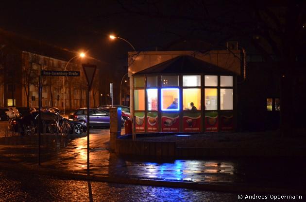 Kebap-Laden in Eisenhüttenstadt
