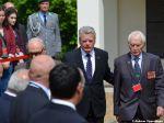 Gauck mit Veteranen