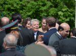 Gauck spricht mit Schülern aus Frankfurt (Oder)