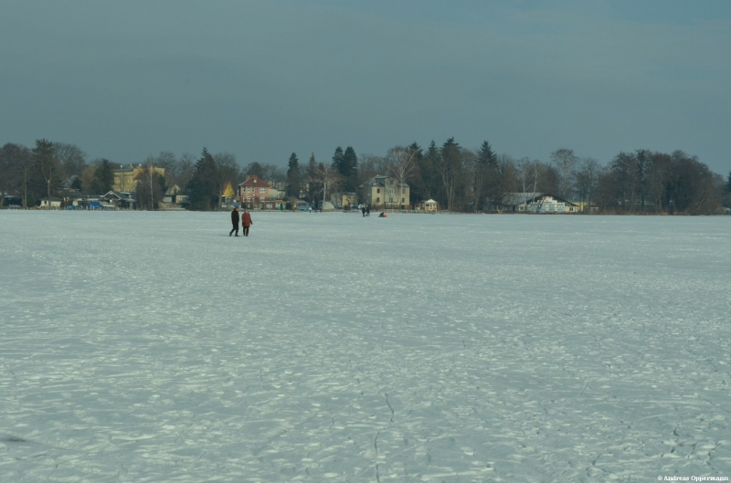 Der Zeuthener See im Februar 2012