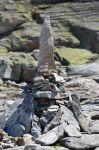 Steinstapel am Medelzkopf