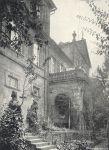 Am Kellereischloss in Hammelburg (1915)