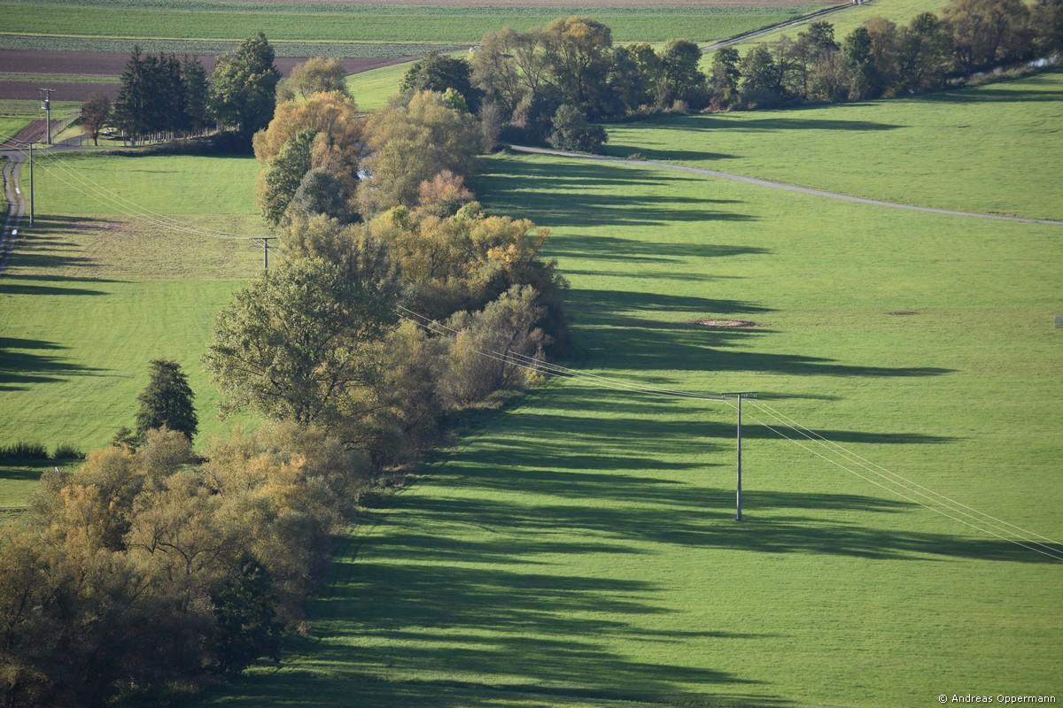 Herbststimmung im Hammelburger Saaletal