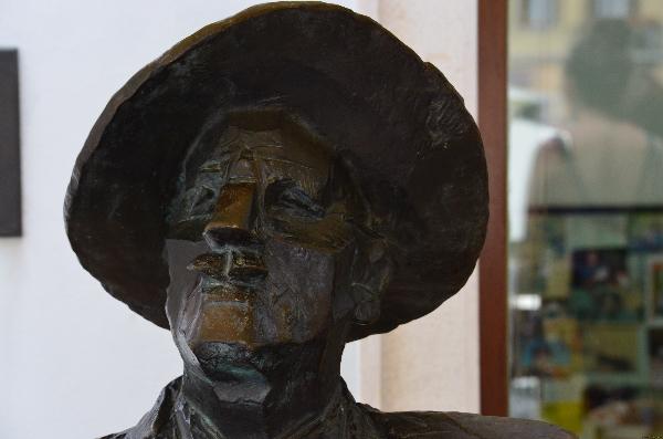 James Joyce sitzt noch immer in seinem Stammcafé in Pula