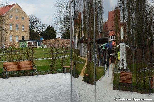 Landesgartenschau 2013 in Prenzlau kurz nach der Eröffnung im April.
