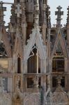 Steinmetzkunst auf dem Dach des Doms zu Mailand