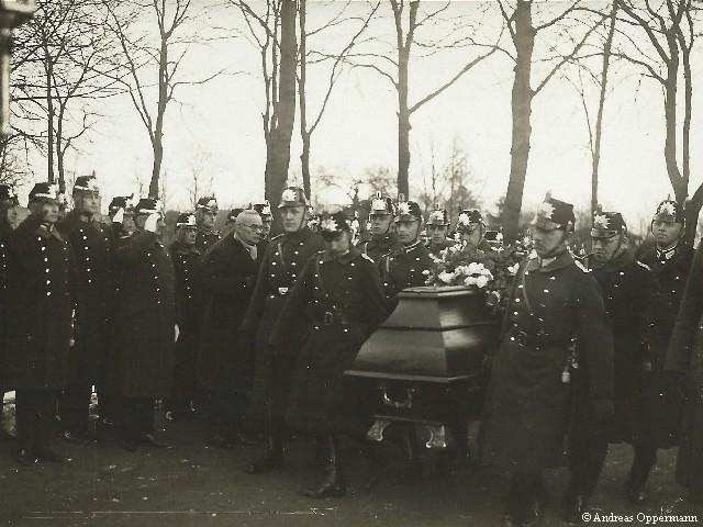 Überführung von Hauptmann Nüske durch die Preußische Schutzpolizei am 23. Februar 1932