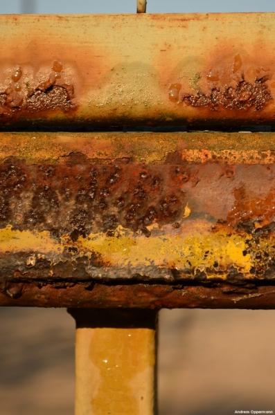 Rost am alten Reifenwerk von Pneumant