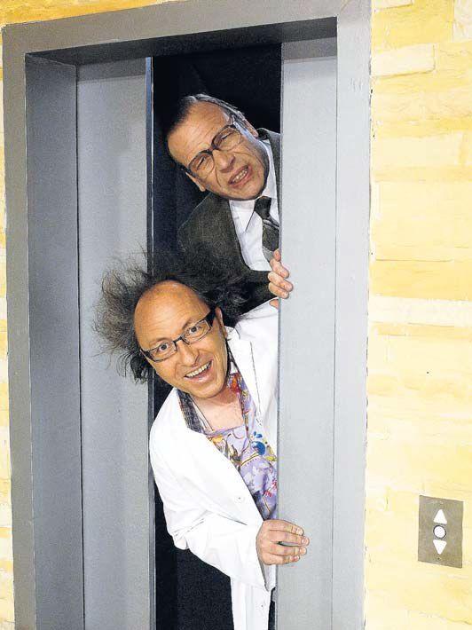 Urban Priol und Georg Schramm. Foto: ZDF/Thomas Schramm