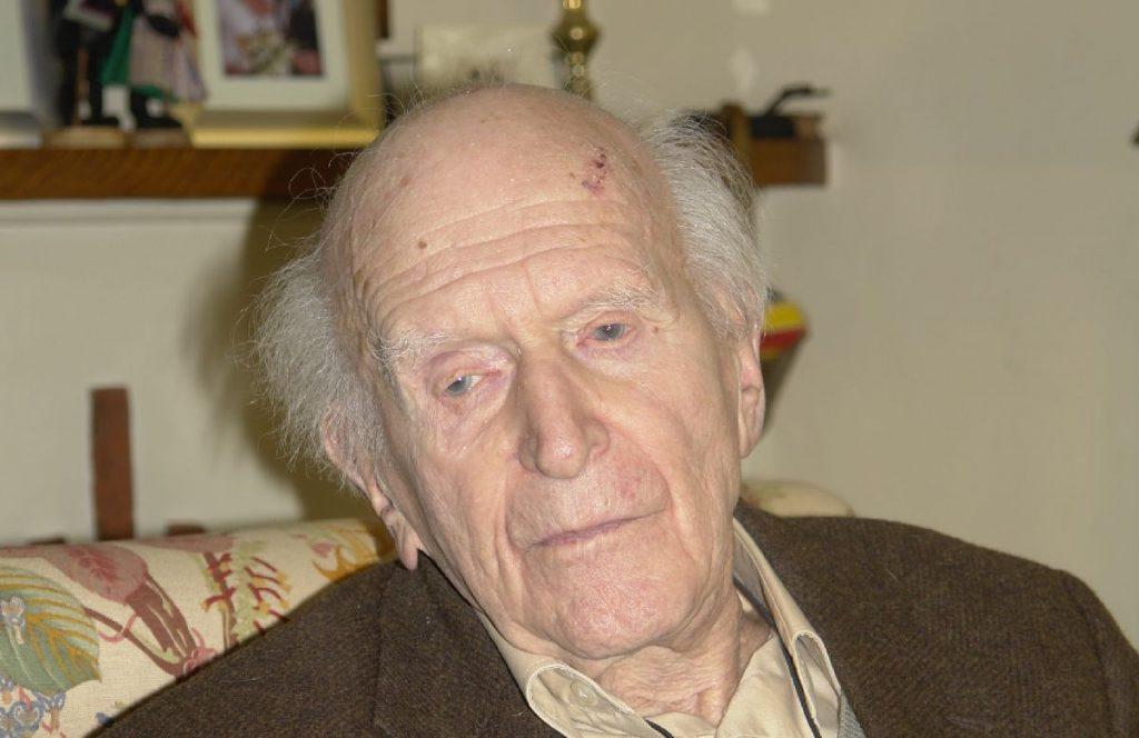 Hans Keilson kurz vor seinem 100. Geburtstag. (Foto: Andreas Oppermann)