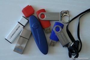 USB-Sticks aus meinem Rucksack