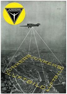 Luftbilder waren Teil des Geschäfts bei Junkers. Foto: Steidl-Verlag