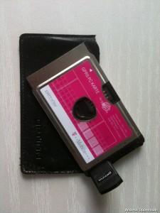 GPRS-Modem aus meinem Rucksack