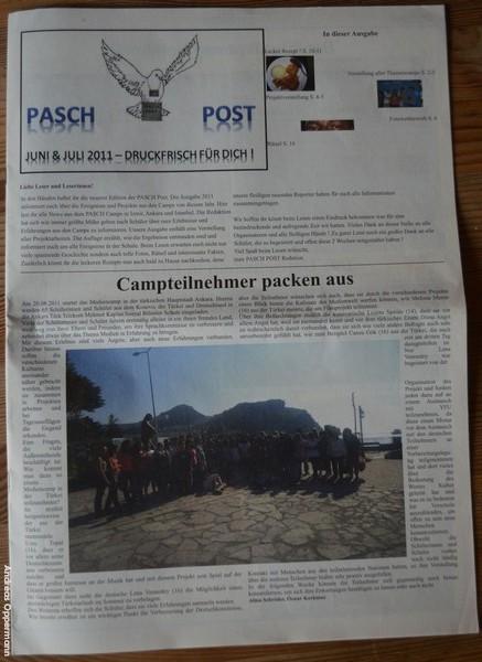 Die Pasch Post aus Ankara
