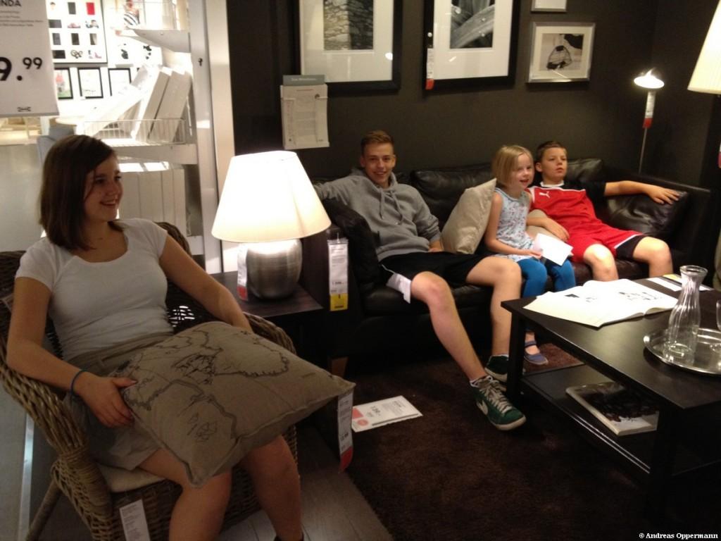 Ausflug zu IKEA
