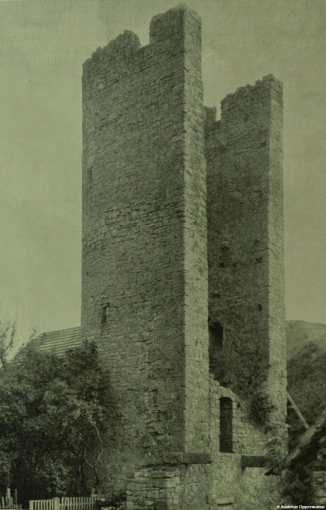 Baderturm in Hammelburg um 1915