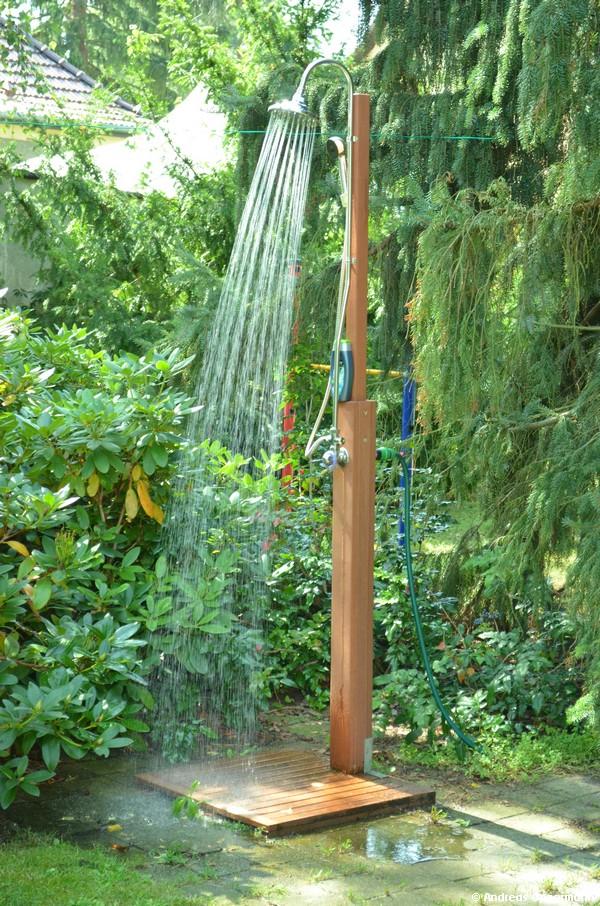 Die neue Gartendusche