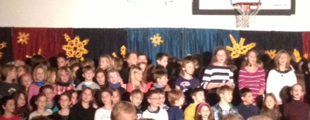 Jahresendkonzert 2012 der Grundschule Eichwalde