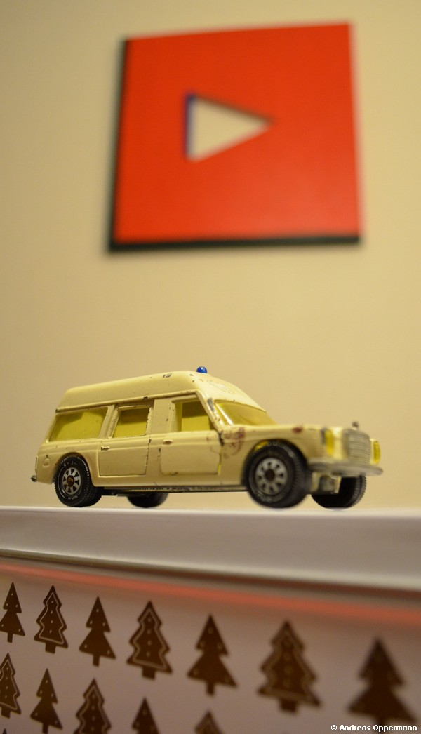 Mercedes-Benz Krankenwagen aus den 1970er Jahren