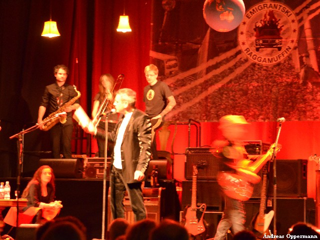 Kaminer und Rotfront im Festsaal Neukölln
