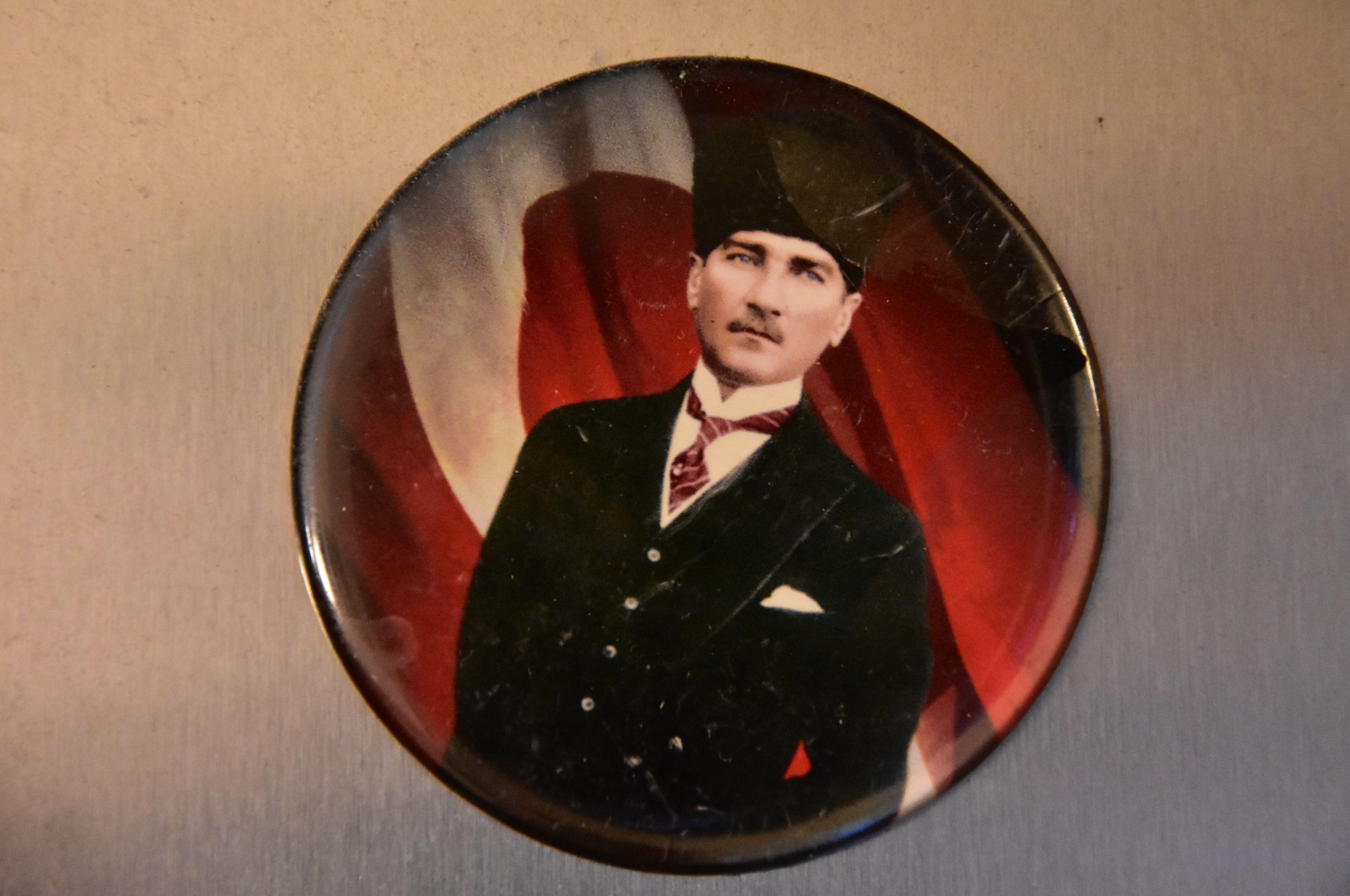 Atatürk als Kühlschrankmagnet