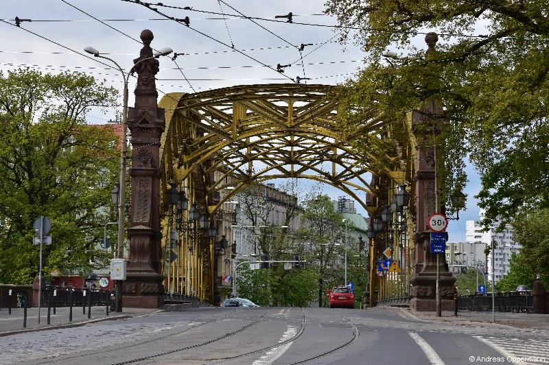 dsc_4522Zwierzyniecki Bridge  Dombrücke  Grunwaldbrücke  Sandbrücke  Universitätsbrücke  Zwierzyniecki Brid