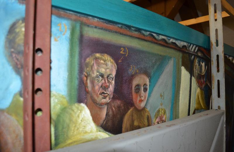 Impressionen aus dem DDR-Kunstarchiv in Beeskow