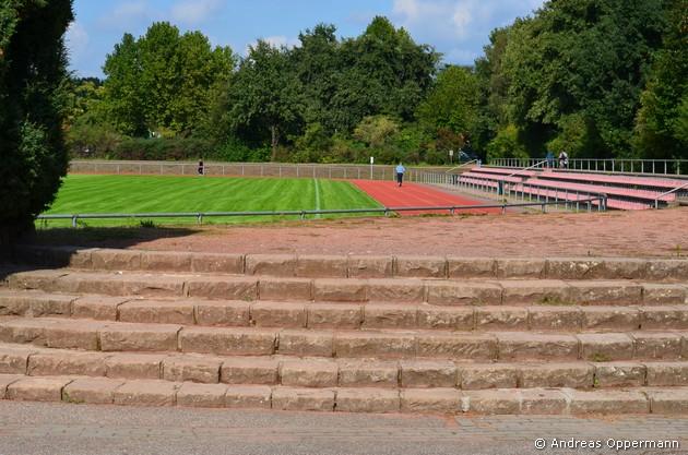 Stadion Friedrichsfelde von Berlin SC Borussia 1920 Friedrichsfelde