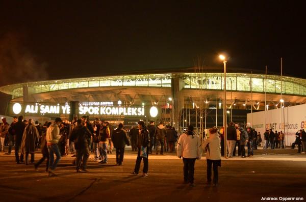 Galataseray Istanbul gegen Siva Spor in der Türk Telekom Arena