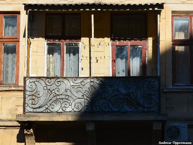 Schmiedeiserne Balkone in Lemberg