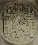 Löwe im Wappen der Stadt