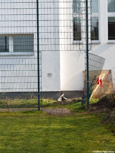 Auf dem Platz von VfB Fortuna Biesdorf