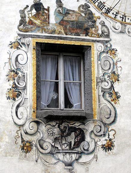 Lütelmalerei in Berchtesgaden. Foto: Magnus Manske/Wikipedia.de